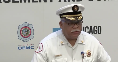 Chicago Fire Department Commissioner Richard C. Ford II