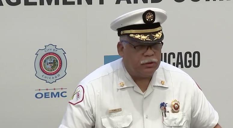 Chicago Fire Department CommissionerRichardC.FordII