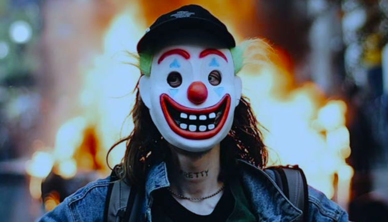 Man Charged With Arson Clown Mask