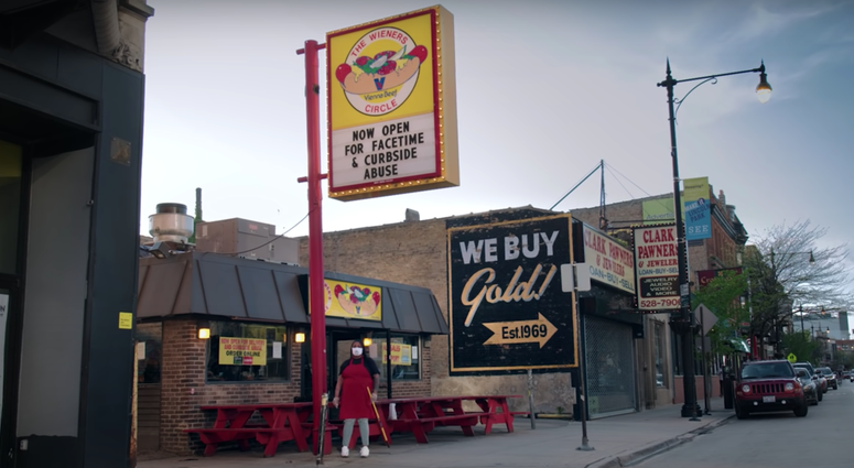 The Wiener's Circle Now Open For FaceTime, Curbside Abuse