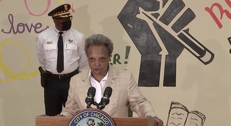 Mayor Lightfoot joinedcity departments, agencies, and street outreach partners to announce public safety efforts ahead of the Fourth of July weekend.