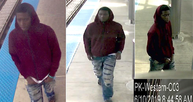 A male, between ages 17 and 20, allegedly approached a girl, June 10, 2019, at Western Avenue and performed a lewd act.