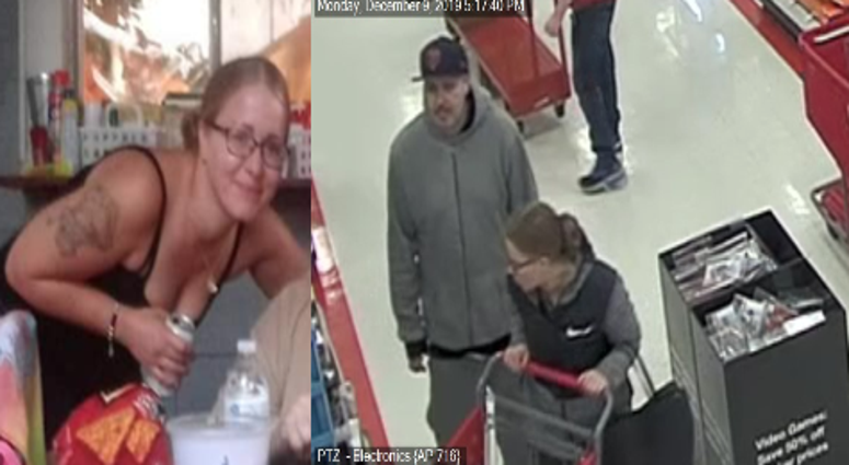 Two people wanted for questioning in a Dec. 9, 2019, incident where a Munster police officer was almost hit by a vehicle.