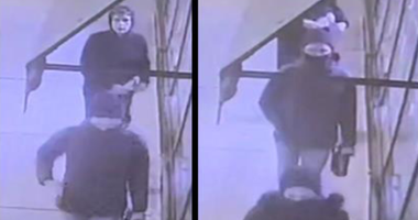 These three suspects are wanted by police for allegedly spray-painting a campaign office in Edgewater.