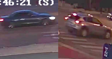 Police released surveillance video frames that show two cars wanted in connection to a July 14, 2020, shooting near a Red Line station at 79th Street.