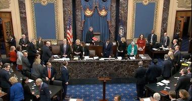 U.S. Senate Impeachment Vote