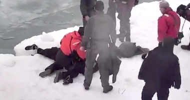 SWAT Ice Lake Rescue