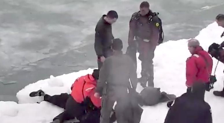 SWAT Ice Lake Rescue