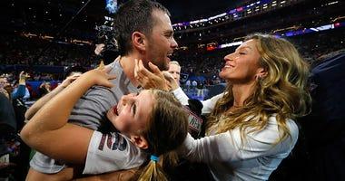 Tom Brady Super Bowl Family