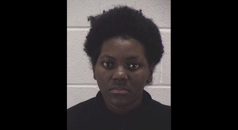 Trivea Jones, 23, has been charged with two counts of felony battery against her infant son who remains on life support.
