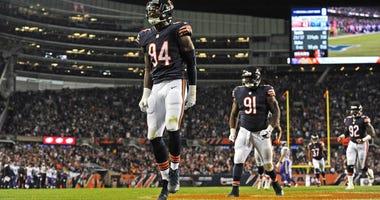 Bears outside linebacker Leonard Floyd