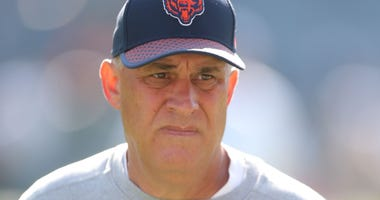 Bears defensive coordinator Vic Fangio