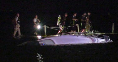 A boat carrying 3 people capsized July 11, 2019 near Belmont Harbor.