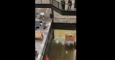 Willis Tower had flooding in his basement and was shut down May 18, 2020, due to a power outage.