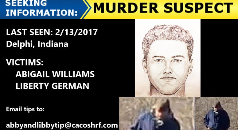 New Sketch Of Delphi Murder Suspect