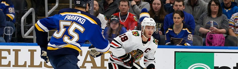Blackhawks Blues