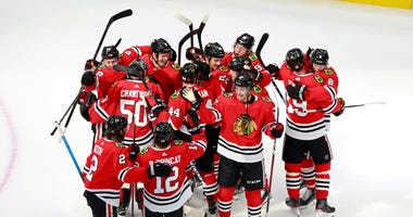 Blackhawks Eliminate Oilers