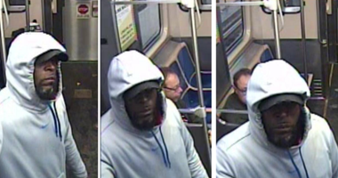 Surveillance photos of the man who robbed Green Line passengers at gunpoint Dec. 1 at the Cermak-McCormick Place station. | Chicago police