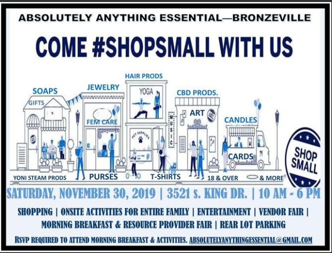 Chicago's 2019 Shop Small Business Saturday Craft Fair