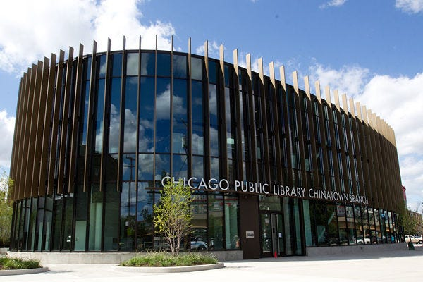 Chinatown branch of the Chicago Public Library