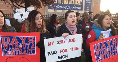 CICS teachers authorize strike