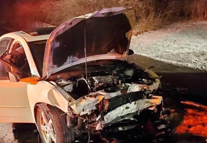 Lisle Crash Caused By Weed Police Say