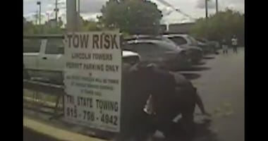DeKalb police have released dashcam footage from an arrest last month that has gained national attention.