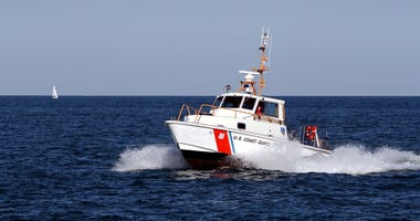 U.S. Coast Guard on Lake Michigan