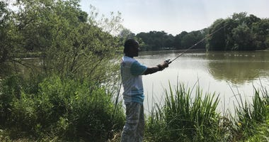 Fishing in Chicago