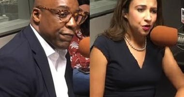 Attorney General candidates Erika Harold (left) and Kwame Raoul