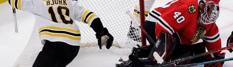 Blackhawks Bruins