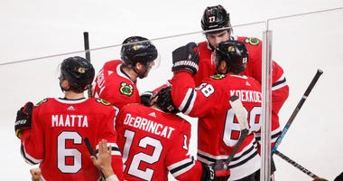 Blackhawks Oilers