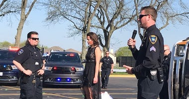 """Fatal Prom"" crash scenario at Glenbard North High School."