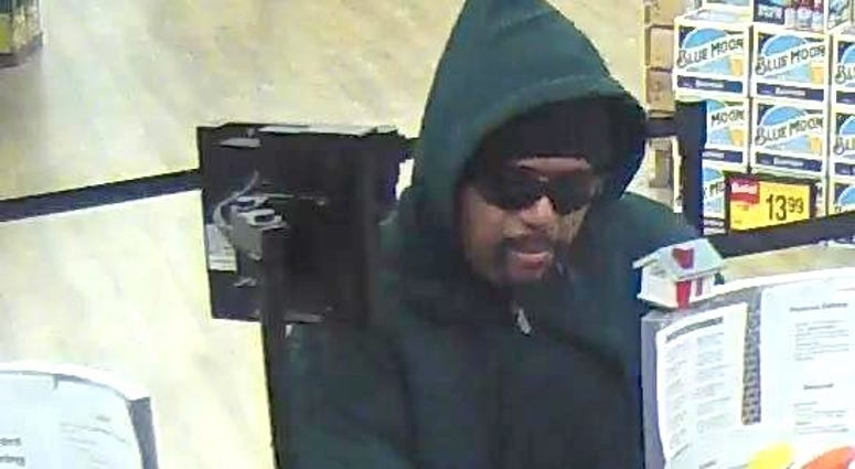 Authorities say this man robbed a TCF Bank branch Oct. 22, 2019, in southwest suburban Burbank.