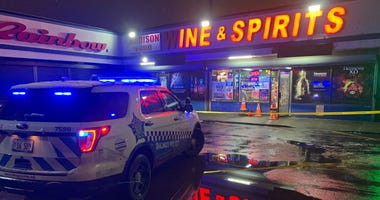 A man was shot and critically wounded by a security guard inside a liquor store Feb. 12, 2020 in Garfield Park.