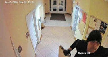 Lombard attempted church robber