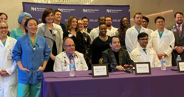 Northwestern Lung Transplant 100th