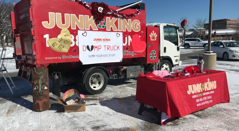 Junk King Valentine's Day
