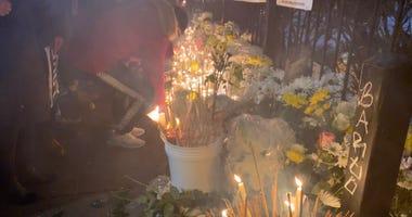 Chinatown Vigil For 2 Murdered Men