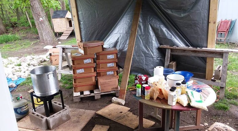 Never Alone Movement prepares 500 pounds of chicken to feed homeless people who live on Lower Wacker Drive.