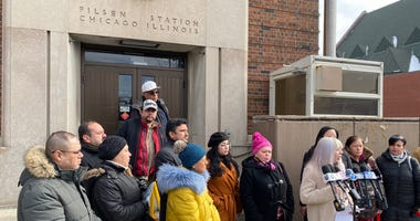 Pilsen Post Office News Conference
