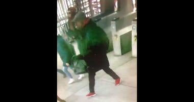 Police say this man is a possible shooter who wounded a man Feb. 5, 2020 in shooting on a Blue Line train near UIC-Halsted.