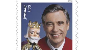 Mr. Rogers Stamp