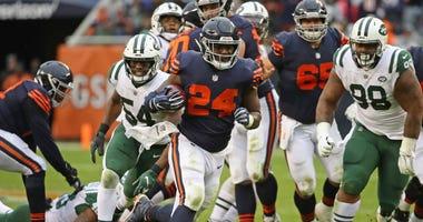 Bears running back Jordan Howard