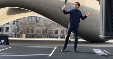 Roger Federer Millennium Park