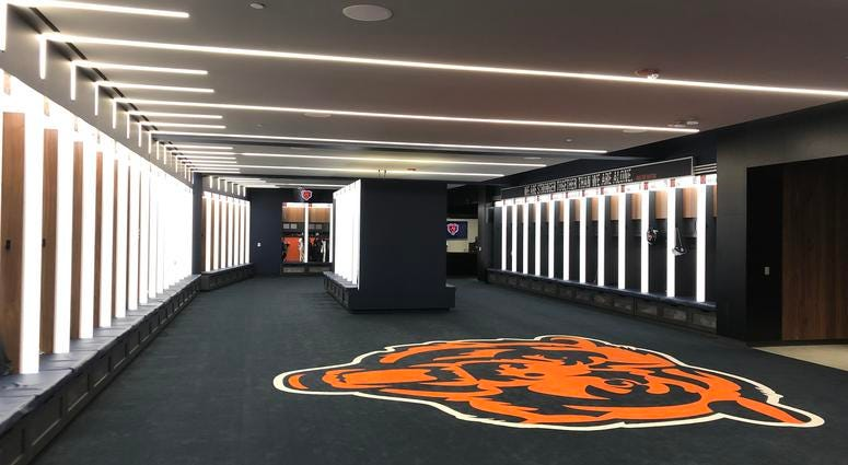 Halas Hall Expansion Brings Bears 'First-Class' Facility