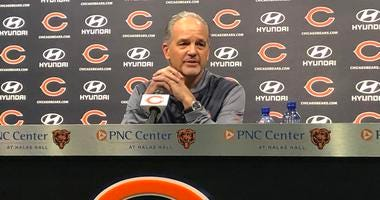 'Recharged' Chuck Pagano Has Bears' Early Admiration