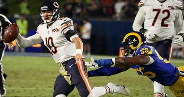 Bears Bench Hobbled Mitchell Trubisky