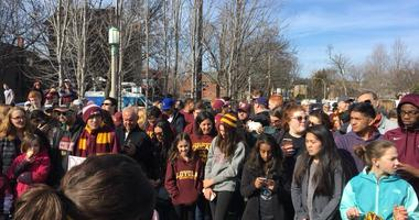 Loyola Men's Basketball Rally