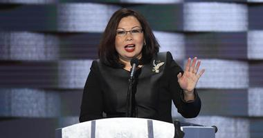 Duckworth Speaks At 2016 DNC Convention